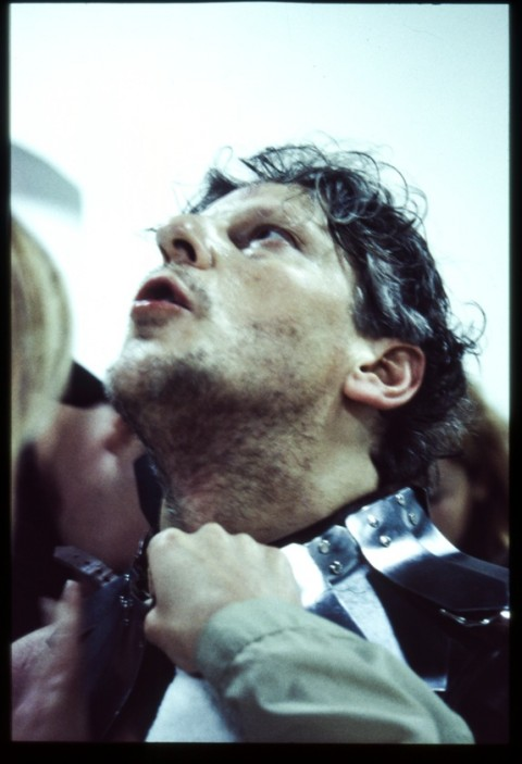 Jan Fabre, Sanguis / Mantis (2001) - Lyon, Les Subsistances - © Angelos bvba - photo Maarten Vanden Abeele