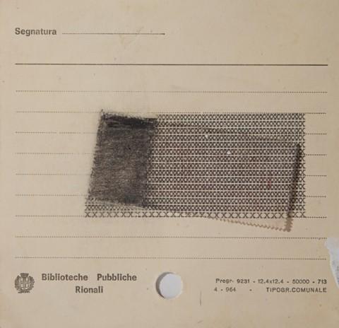 Luciano Fabro, No titolo, 1962 - Collezione privata - photo Annalisa Guidetti e Giovanni Ricci, Milano