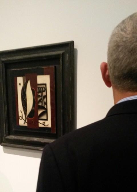 Fernand Léger, Composition à la feuille, 1926 - Collezione UniCredit