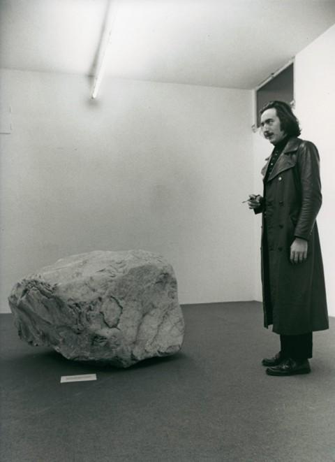 Gino De Dominicis nel 1970