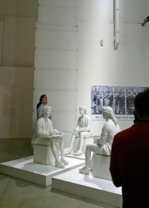 Giulio Paolini, Tre pre tre (ognuno è l'altro o nessuno), 1998-1999 - Collezione UniCredit