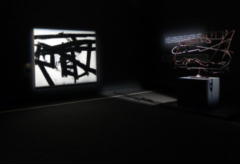 Pollock e gli Irascibili. La scuola di New York - veduta della mostra presso Palazzo Reale, Milano 2013