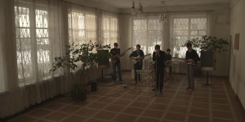 Deimantas Narkevičius - Ausgeträumt (2010) - HD Video transferred on 35mm film and to HD video - Colour,  Sound - 5 min. 35 sec.