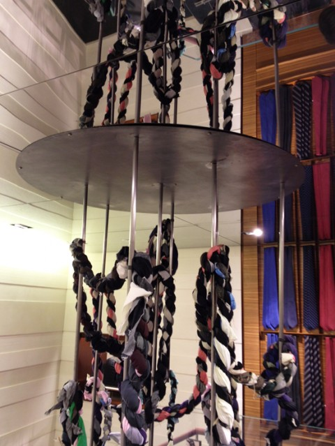 Art in Global Stores, Nico Vascellari - Boutique Ermenegildo Zegna, Ginevra