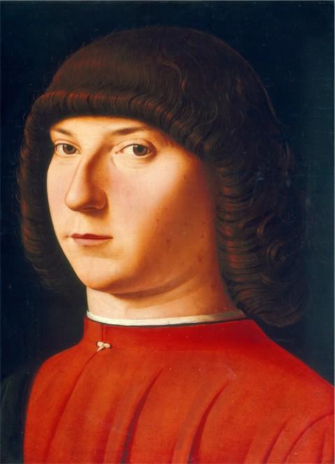 Jacobello di Antonello - Ritratto di giovane - Washington, National Gallery of Art (Coll. Mellon)