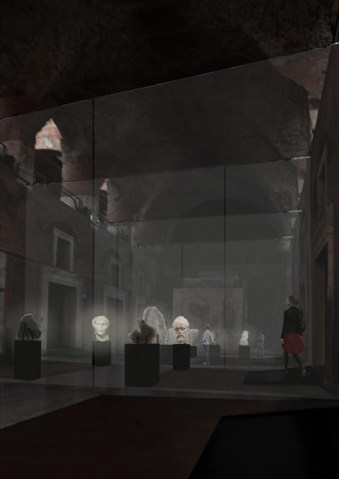 De Vincentiis + Esposito + Ferretti - Luci e ombre di un imperatore - Museo dei Fori Imperiali, Roma