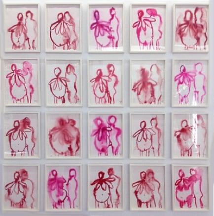 Louise Bourgeois, The Couple I, 2007, collezione privata, Parigi - Les Papesses, Collection Lambert, Avignone