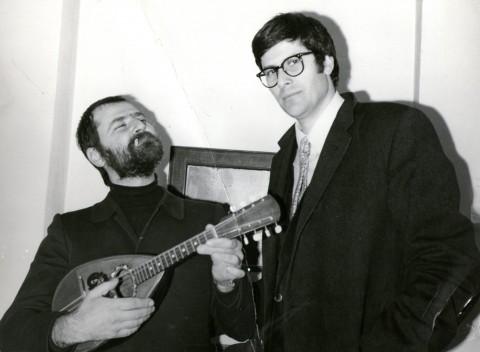 Michelangelo Pistoletto e Pio Monti, 1969