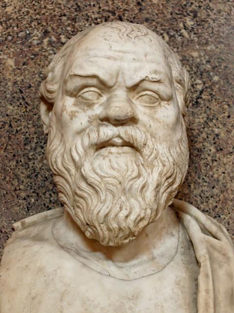 Busto di Socrate conservato ai Musei Vaticani