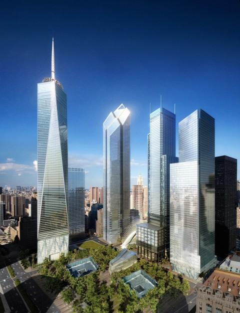 WTC Site Day, Silverstein Properties, New York