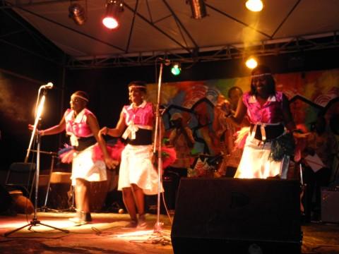 Un festival a Kampala