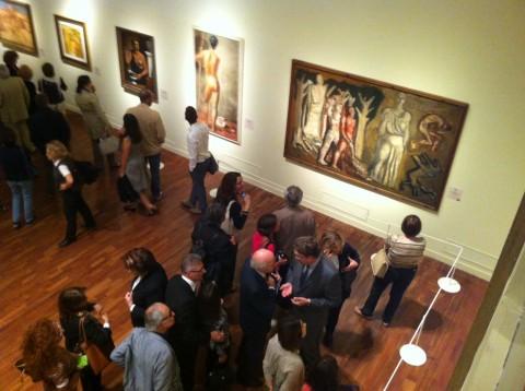 Cézanne e gli artisti italiani del '900 - veduta della mostra presso il Complesso del Vittoriano, Roma 2013