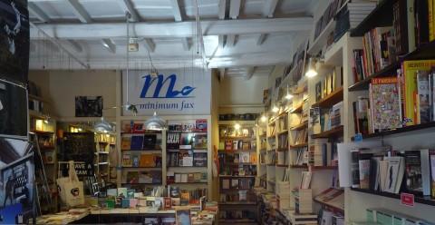 La libreria minimum fax a Roma