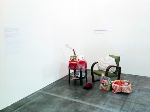 Ana Vieira, Santa Paz Domestica Domesticada, 1977 - Courtesy Galeria Graça Brandão, Lisbona - Artissima 16
