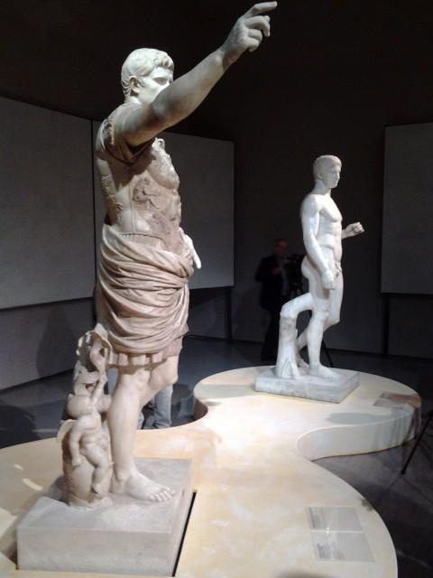Augusto - veduta della mostra presso le Scuderie del Quirinale, Roma 2013
