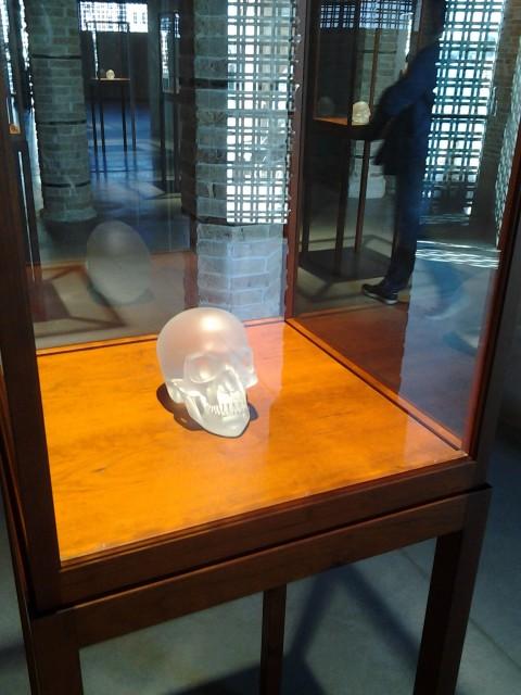 Prima Materia - veduta della mostra presso Punta della Dogana, Venezia 2013