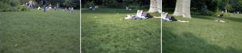 Marina Ballo Charmet, Il parco (Paris, Les Buttes Chaumont), 2006