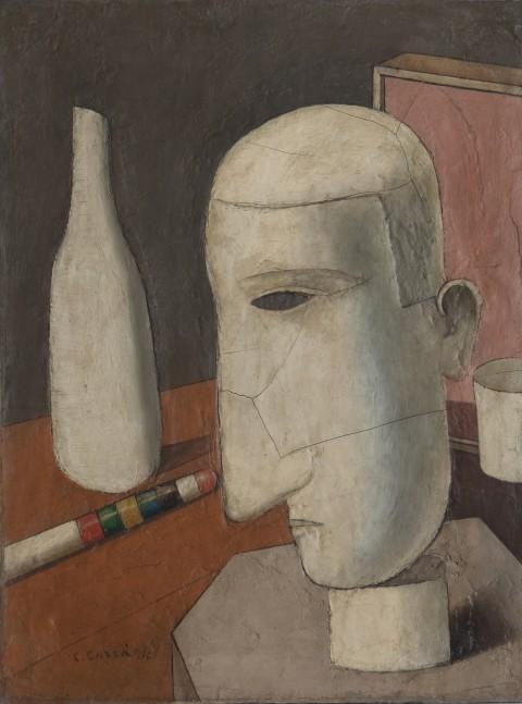 Carlo Carrà, Il gentiluomo ubriaco (1916)