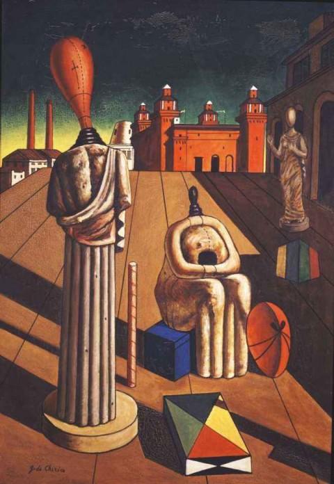 Giorgio De Chirico, Le muse inquietanti (1917)