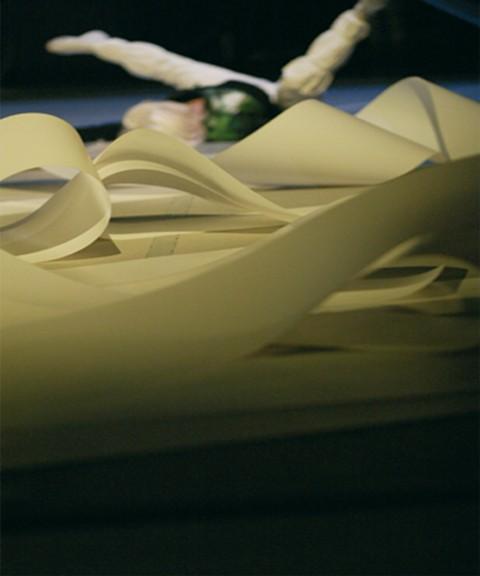 Orazio Carpenzano, Architettura per Pycta di Lucia Latour - Teatro Vascello, Roma 2006