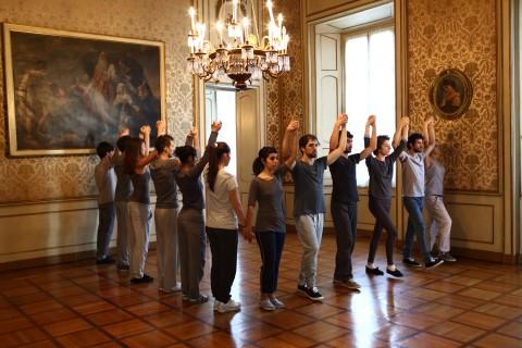 Allora & Calzadilla – Fault Lines - veduta della mostra presso Palazzo Cusani, Milano 2013