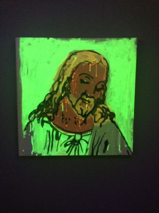 Andy Warhol - Detail of The Last Supper - 1986 - Courtesy The Brant Foundation