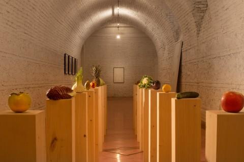 Anamericana - veduta della mostra presso l'American Academy, Roma 2013 - photo Raffaele Provinciali