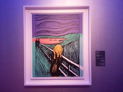 Warhol after Munch, L'urlo, 1984, serigrafia
