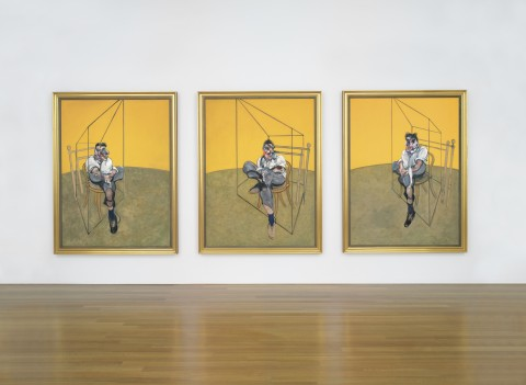 Francis Bacon - Three Studies of Lucian Freud, record all time a 142 milioni di dollari