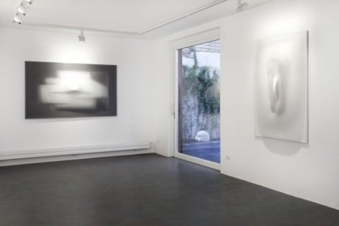 Paolo Radi - Alzando lo sguardo - veduta della mostra presso Anna Marra, Roma 2013
