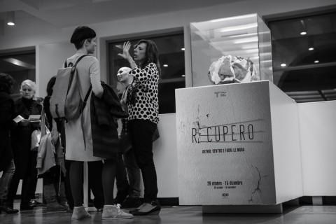 Recupero. Artwo: dentro e fuori le mura - veduta della mostra presso il Triennale DesignCafé, Milano 2013 - photo Francesco Quinzi