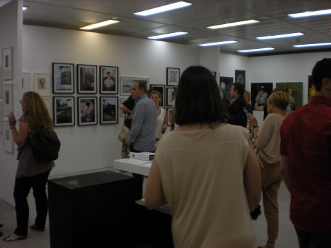 Inaugurazione Fresh Paint Art Fair - Tel Aviv. 5 edizione, 2012