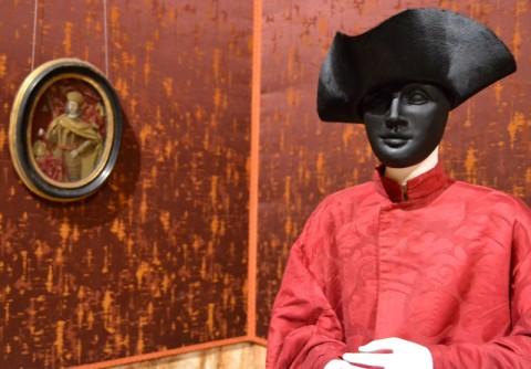 Inaugurazione di Palazzo Mocenigo, Venezia – veduta dell'allestimento
