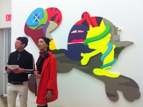 KAWS @ Galerie Perrotin