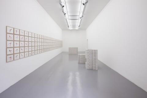 Monica Bonvicini – Then to see the days again and night never be too high - veduta della mostra presso la Galleria Massimo Minini, Brescia 2013
