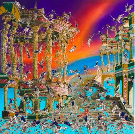 Raqib Shaw @ Pace Gallery