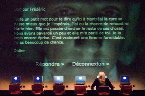 Robert Lepage, Andersen Project, 2006, still - photo Piero Tauro