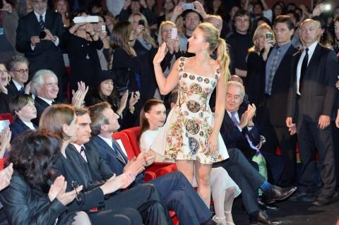 Scarlett Johansonn al Festival del Film di Roma