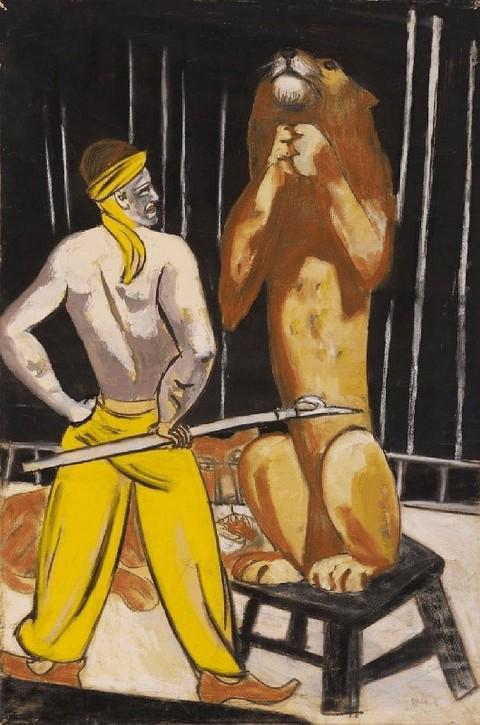 The Lion Tamer, di Max Beckmann, l'ultima opera venduta da Gurlitt