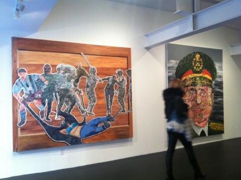 Zakaria Ramhani @ Julie Meneret Contemporary Art