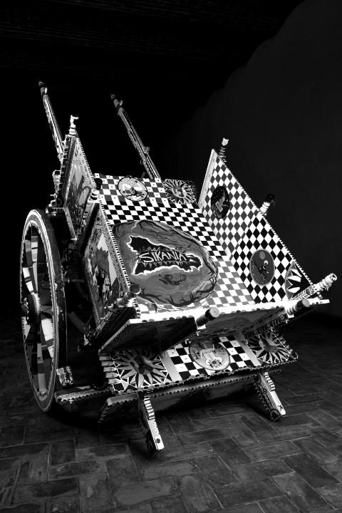 Laboratorio Saccardi, La robba ( carretto ), 2010 - esposto al Museo della Mafia di Salemi