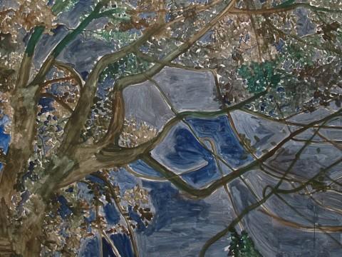 Zhang Enli, Landscape - Villa Croce, Genova 2013
