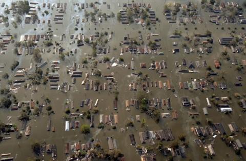 Le conseguenze dell'uragano Katrina