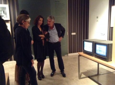 Adam Caruso & Thomas Demand - Madame Wu and the Mill from Hell - opening della mostra presso la British School at Rome, Roma 2013 - photo Daniela Pellegrini
