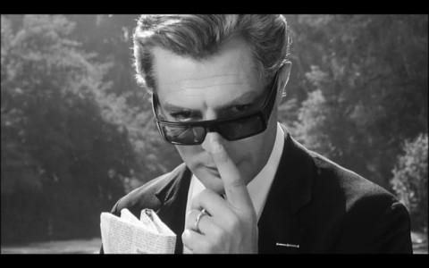 Mastroianniin 8 e 1/2 di Fellini