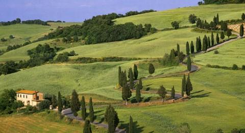 """Il """"tipico"""" paesaggio della Toscana"""