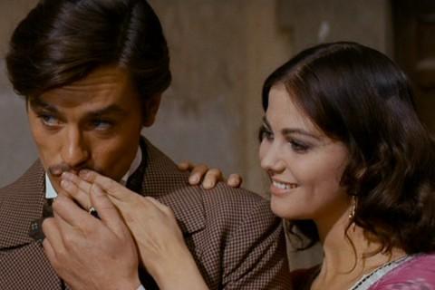 Alain Delon e Claudia Cardinale ne Il Gattopardo (Luchino Visconti, 1963)