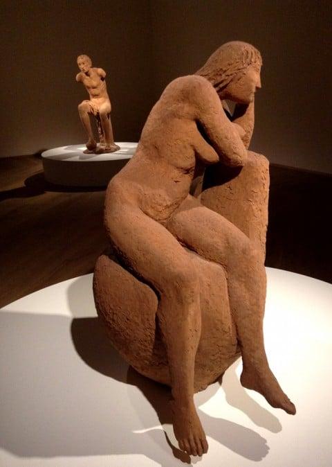 Arturo Martini - Creature. Il sogno della terracotta - veduta della mostra presso Palazzo Fava, Bologna 2013