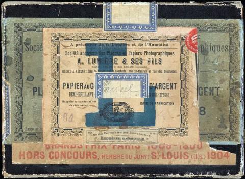 Marcel Duchamp, La Boîte de 1914, 1913-14 - Centre Pompidou, Parigi - photo Philippe Migeat - © Succession Marcel Duchamp, Adagp, Paris