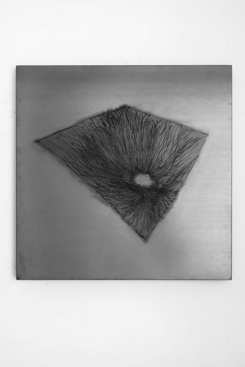 Davide Dormino - Lontanodentro - veduta della mostra presso la Galleria De Crescenzo & Viesti, Roma 2013